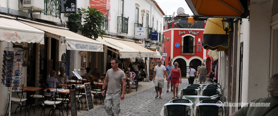 Historical centre of Lagos, Portugal